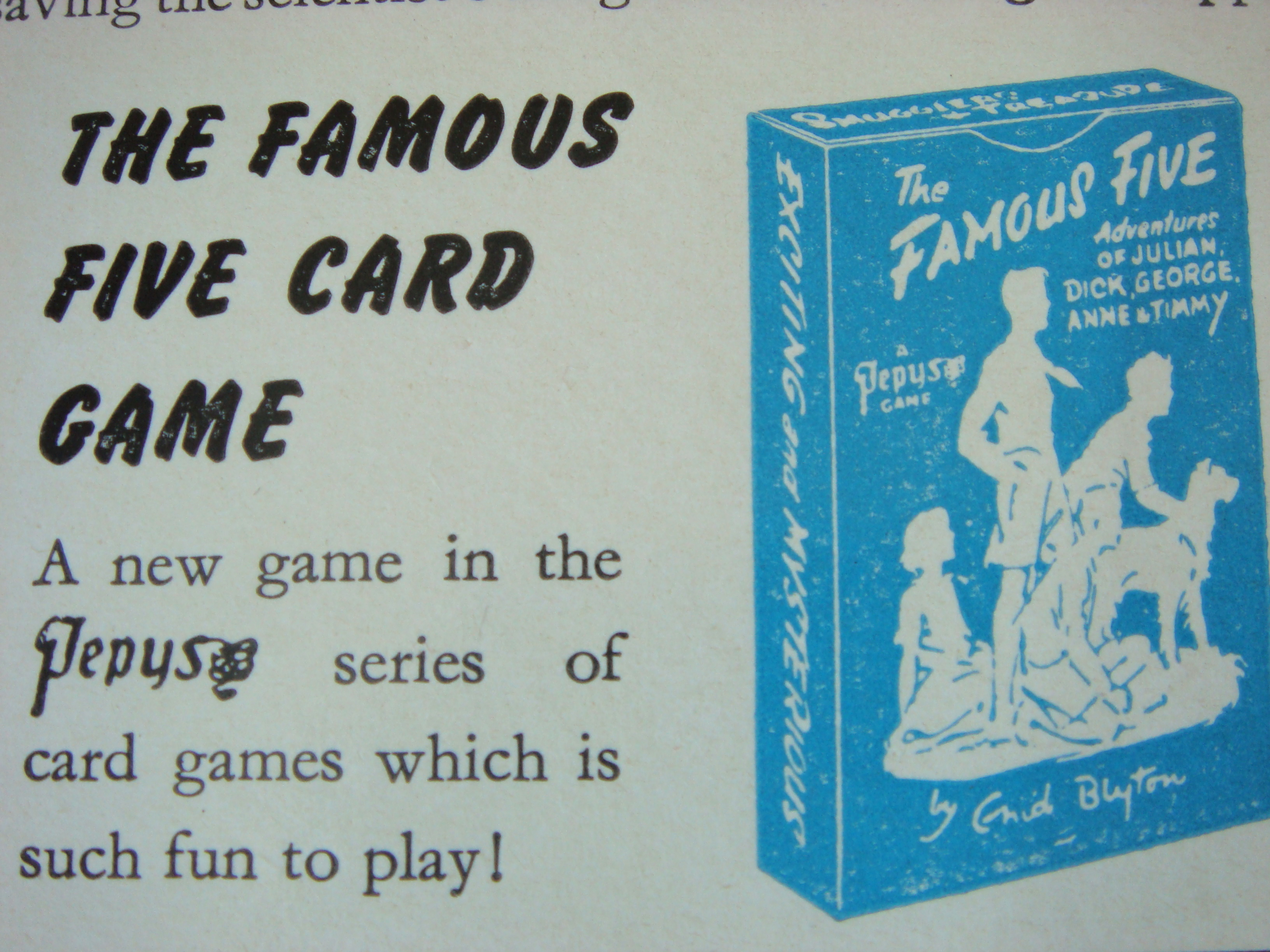 An Antique Treasure By Enid Blyton Brown Paper Mystery Of The Vanished Prince Here Is A Picture Game