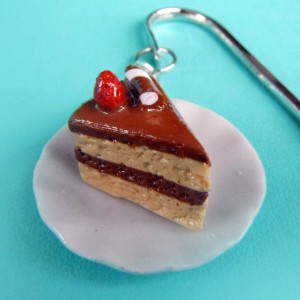 And this cake charm bookmark is quite delish.